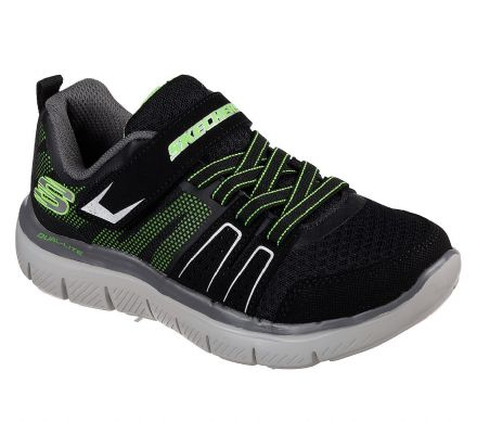 Skechers HIGH TORQUE Trainers (Black/Lime)